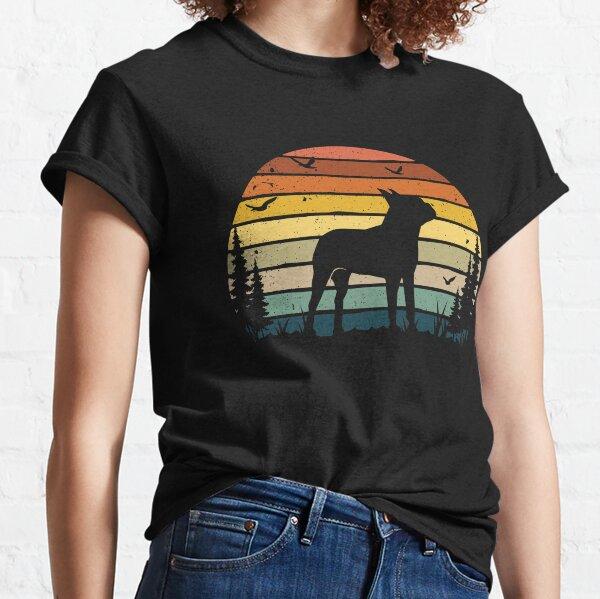 Boston Terrier Dog Retro Vintage  Classic T-Shirt