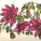 2015 calendar of flowers 2.  by Elizabeth Moore Golding