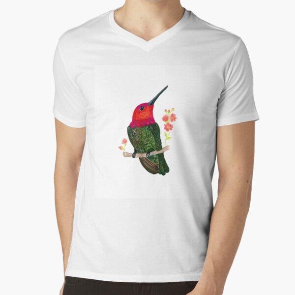 Hummingbird V-Neck T-Shirt