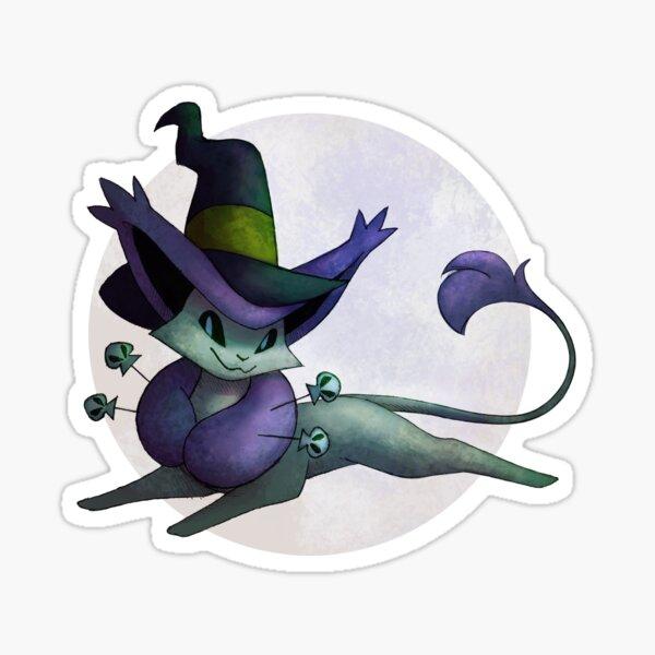 Delcatty Halloween Sticker Sticker