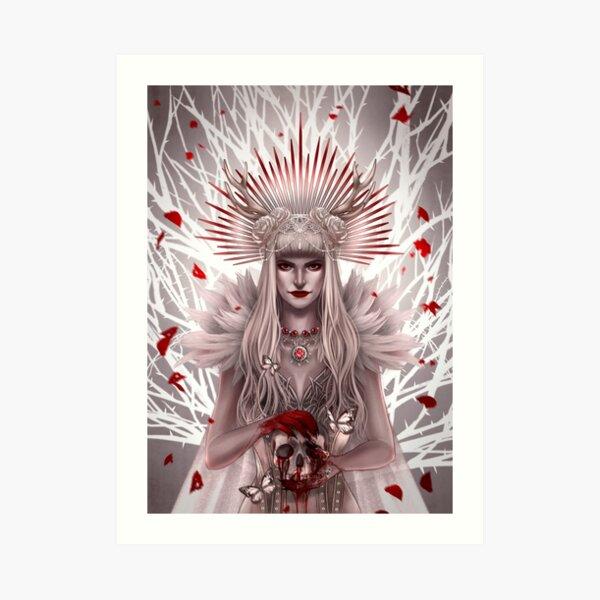 Queen of Death Art Print