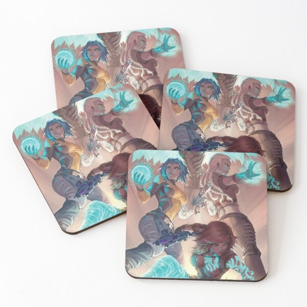 Phase Coasters (Set of 4)