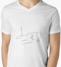 dthaase rebus Men's V-Neck T-Shirt