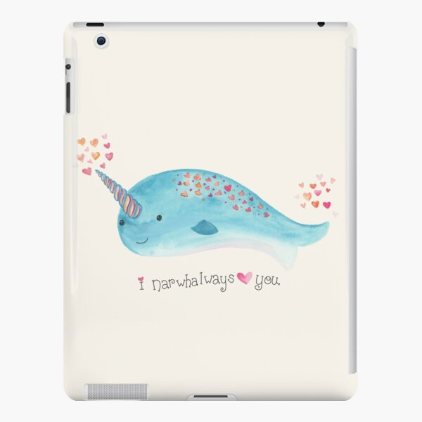 Narwhal iPad Snap Case