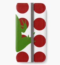 Simple Frog in the Bog iPhone Wallet/Case/Skin