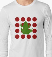 Simple Frog in the Bog Long Sleeve T-Shirt
