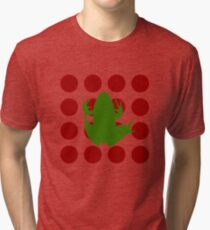 Simple Frog in the Bog Tri-blend T-Shirt