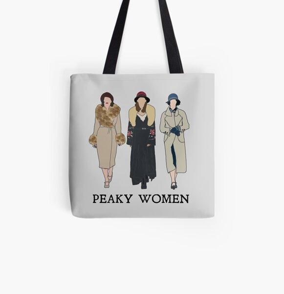 Peaky Women: Peaky Blinders Tote bag doublé