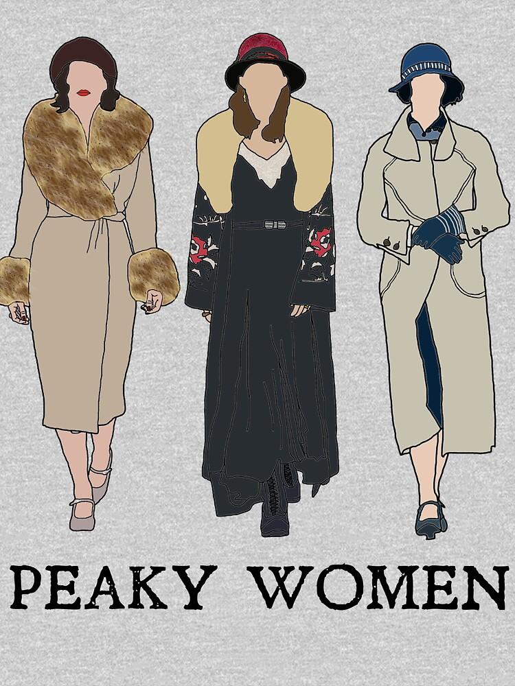 Peaky Women: Peaky Blinders by sci-fi-nerd