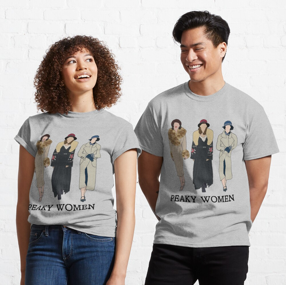Peaky Women: Peaky Blinders Classic T-Shirt