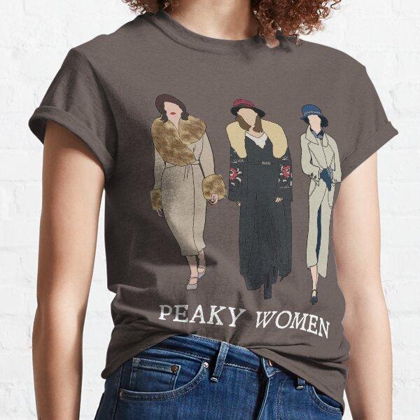 Peaky Women: Peaky Blinders (Blanco) Camiseta clásica