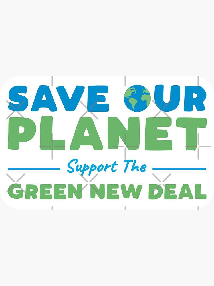 Climate Change - Support the Green New Deal by BethsdaleArt