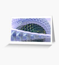 Reflective Unreality 2500 Greeting Card