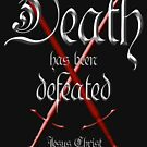 Jesus defeated death, bible verse by Gladwigshausen