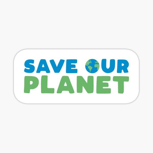 Rettet unseren Planeten Sticker