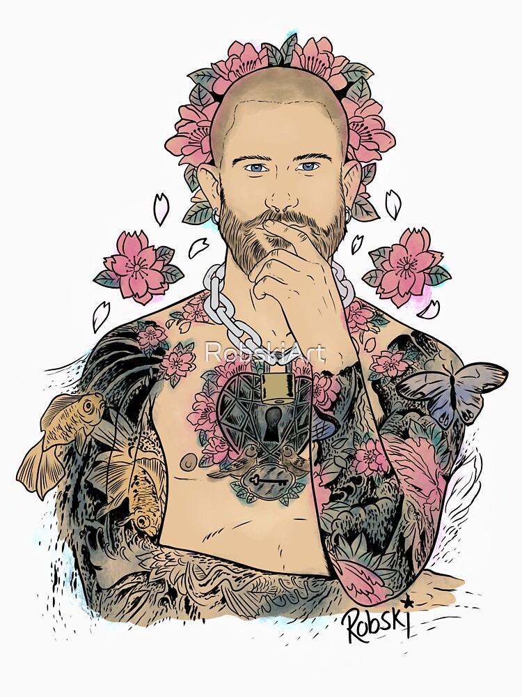 Scott Humpreys - fresco painting tattoo by RobskiArt