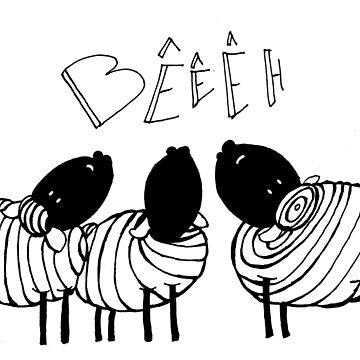 Sheep by LucyNuzit
