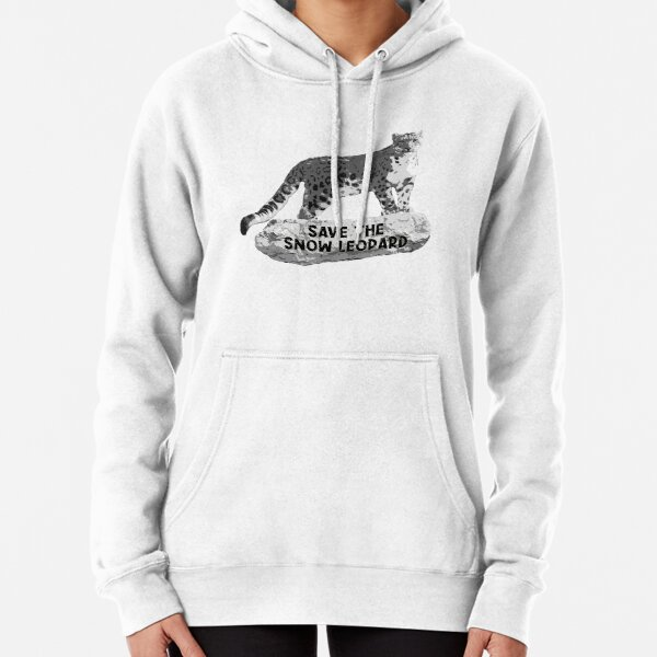 Snow Leopard Day 2019 Pullover Hoodie