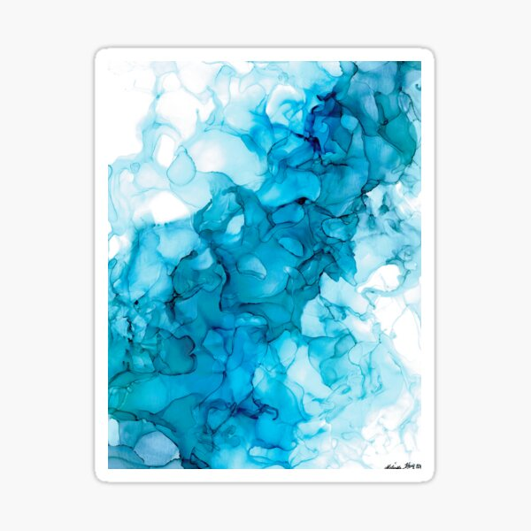 Blue Smoke Sticker