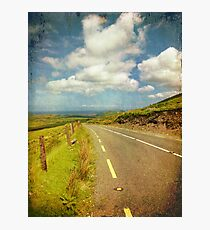 Rural Countryside Scenic Drive, County Kerry, Ireland Photographic Print