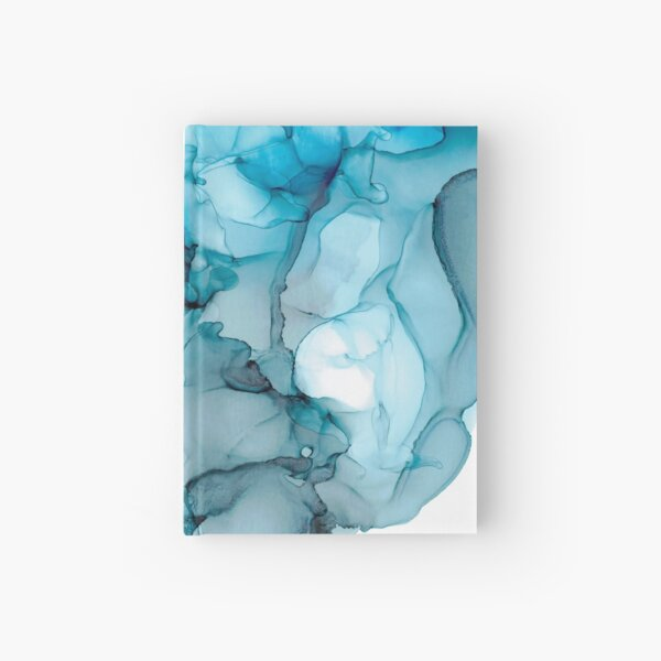 Blue Stream Reflection Hardcover Journal