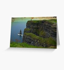 Cliffs of Moher, County Clare, Ireland Greeting Card