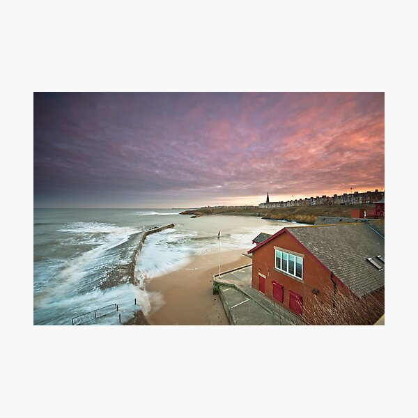 Cullercoats harbour Photographic Print