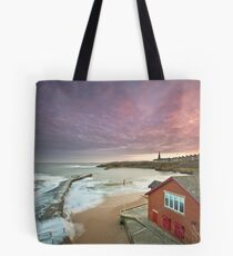 Cullercoats harbour Tote Bag