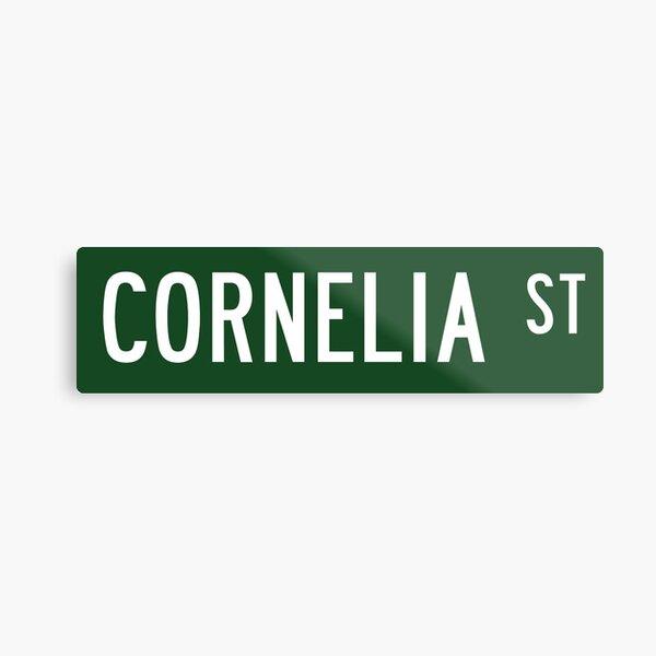 Cornelia Street Metal Print