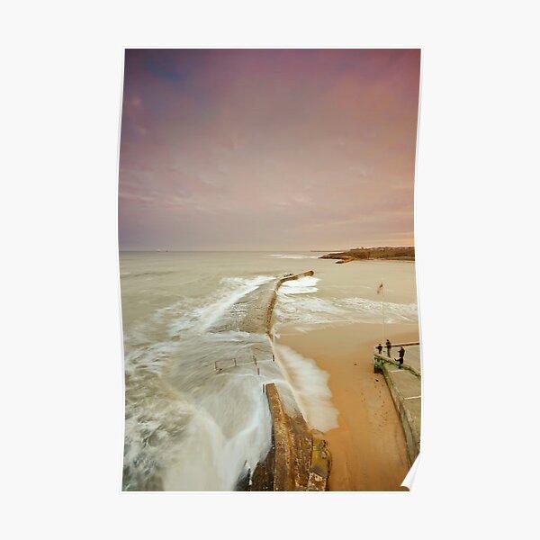 Avoiding the waves Poster