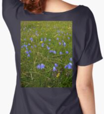 A sea of Harebells, Rossbeg, Co Donegal Women's Relaxed Fit T-Shirt