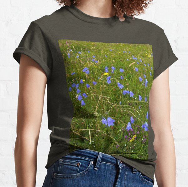 A sea of Harebells, Rossbeg, Co Donegal Classic T-Shirt