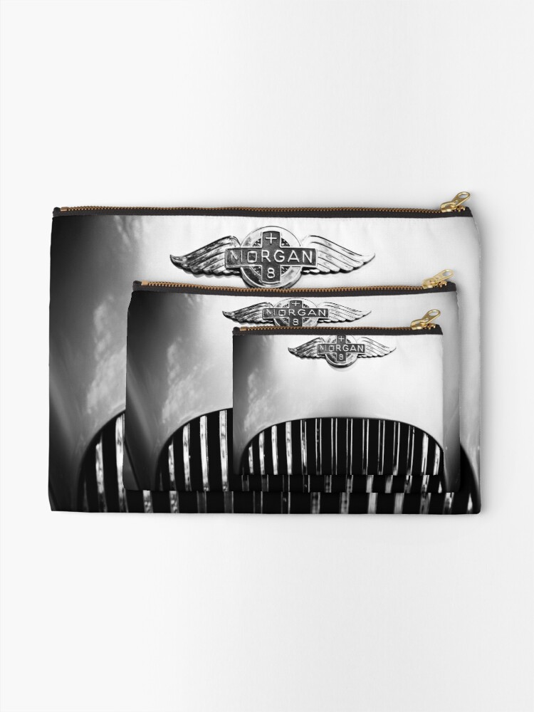 Alternate view of Morgan vintage collection car Zipper Pouch