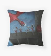 Tower Defence Throw Pillow