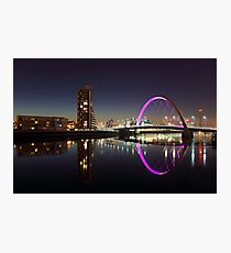 Clyde arc reflection Photographic Print
