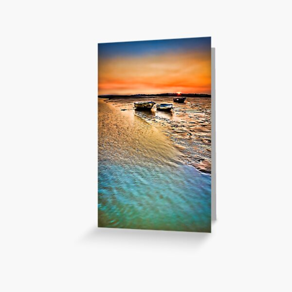 The Jetty Two Tree Island Greeting Card