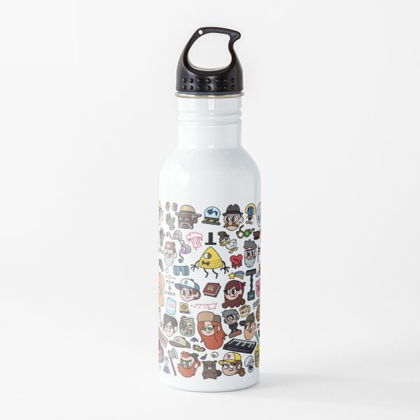 Gravity Falls Doodle Water Bottle