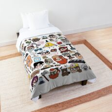 Gravity Falls Doodle Comforter