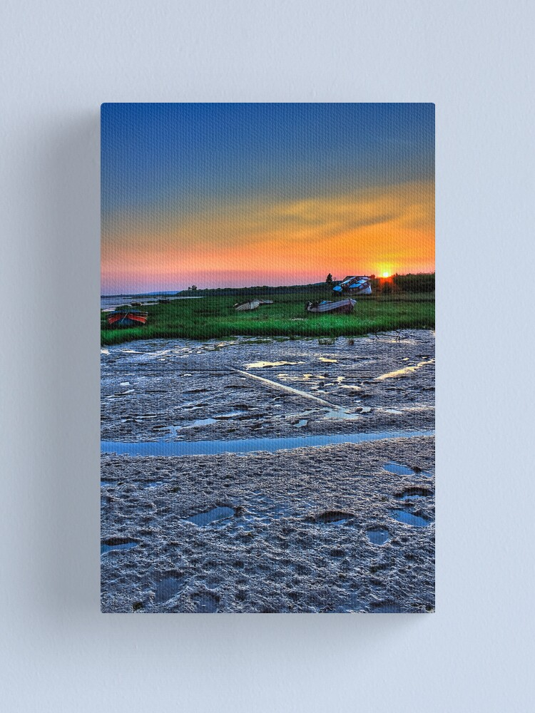 Alternate view of Sunset Two Tree Island Canvas Print