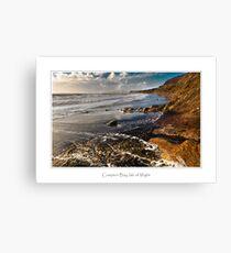 Compton Bay, Isle of Wight Canvas Print