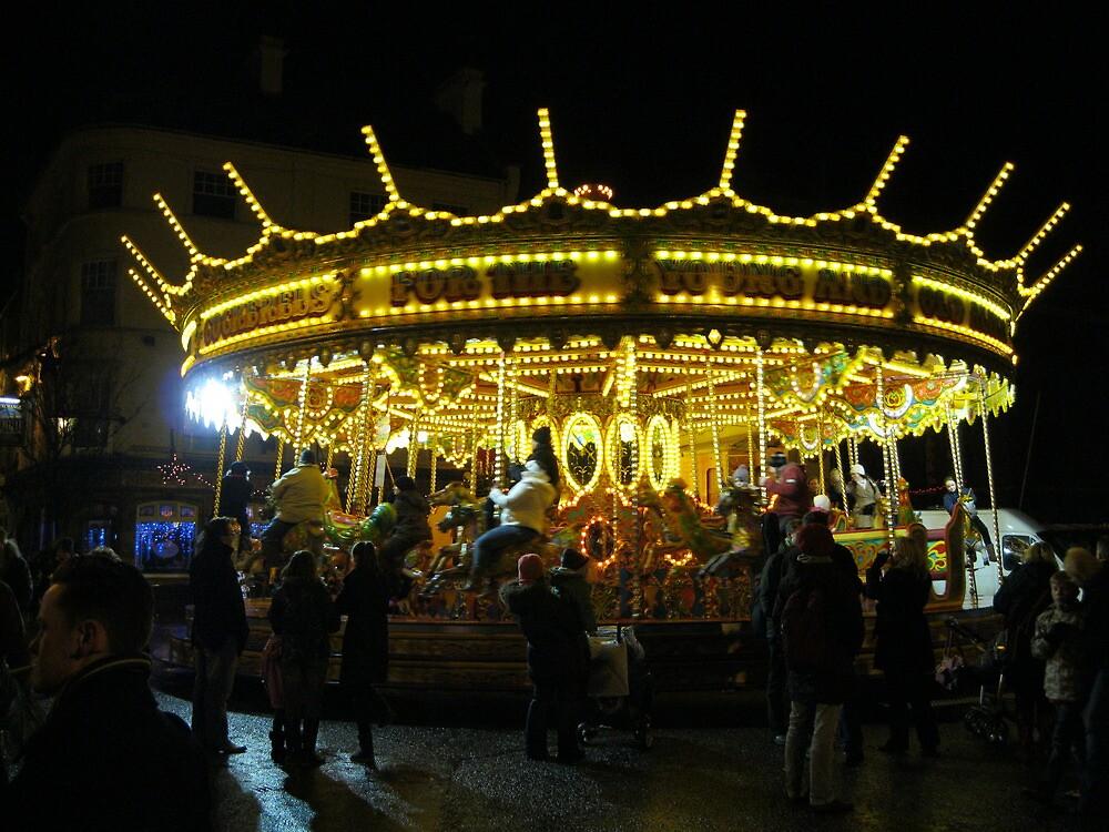 Merry Go Round in Worcester by stevenw888