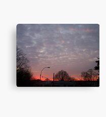 Lienzo New York sunrise