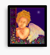 'The First Noel' Nativity Painting #3 Canvas Print