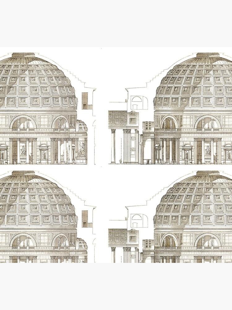 Pantheon of Rome by bluespecsstudio