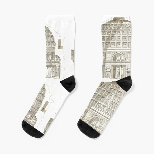 Pantheon of Rome Socks