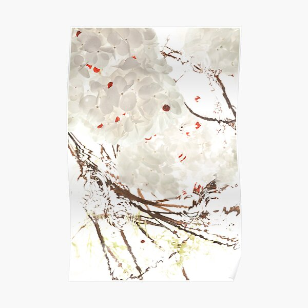 Snow Leaves Poster