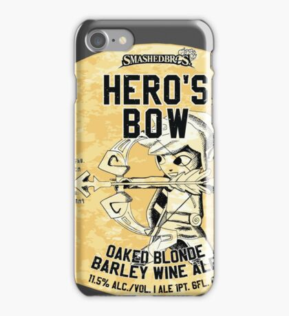 Smashed Bros. Hero's Bow Oaked Blonde Barley Wine Ale (#3) iPhone Case/Skin