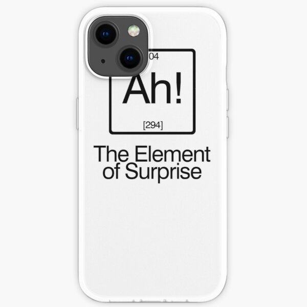 The Element of Surprise iPhone Soft Case