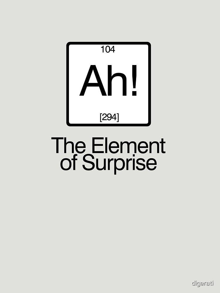 The Element of Surprise von digerati