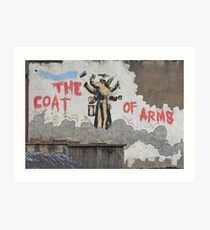 Bristol Street Art / Graffiti Art Print
